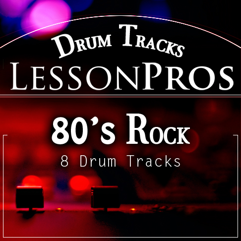 80's Rock Drum Tracks