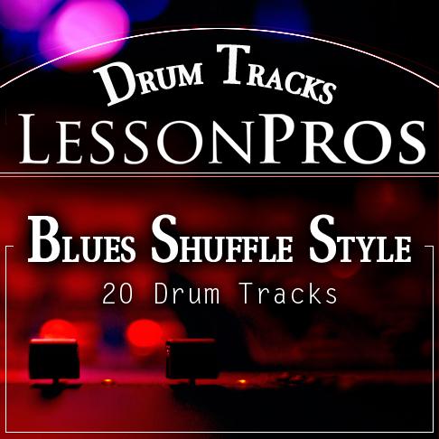 Blues Shuffle Style Drum Tracks