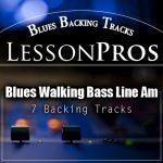 blues backing track