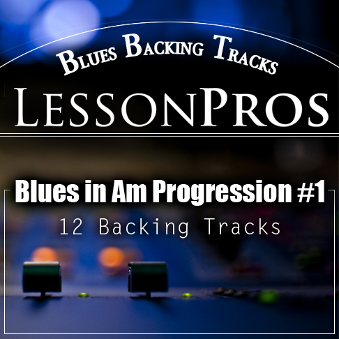 blues backing track