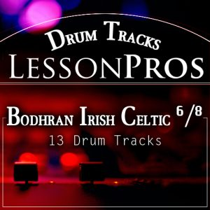Bodhran Irish Celtic Drum Track