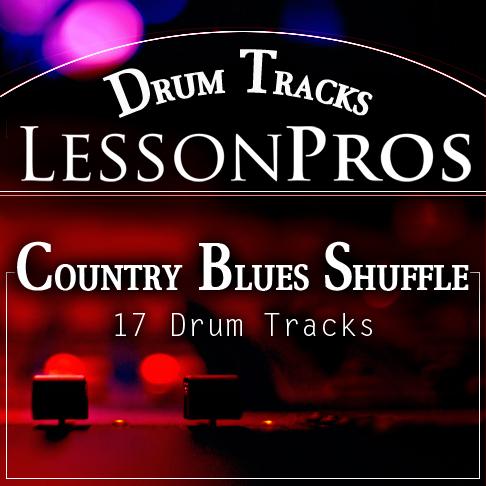Country Blues Shuffle Drum Tracks
