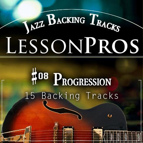 Jazz - #08 Progression Backing Tracks