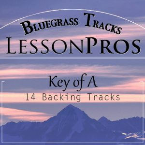Bluegrass Key of A Backing Tracks