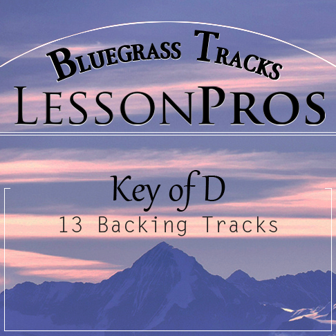 Bluegrass Key of D Backing Tracks