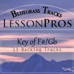 Bluegrass Key of F# / Gb Backing Tracks