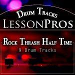 Rock Thrash Half Time Drum Tracks