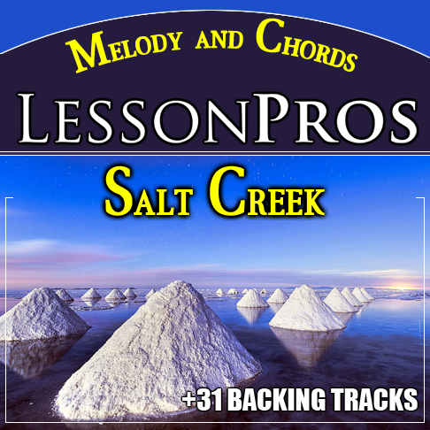 Bluegrass Fiddle Tune Salt Creek