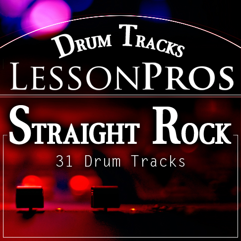 Straight Rock Drum Tracks
