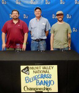 Walnut Valley Bluegrass Banjo Winners