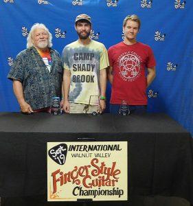 Walnut Valley Fingerstyle Guitar Winners