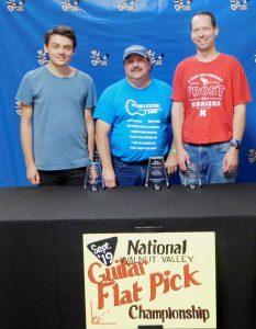 Walnut Valley Flatpick Guitar Winners