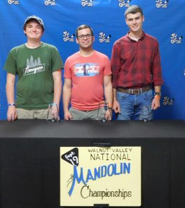 Walnut Valley National Mandolin Winners