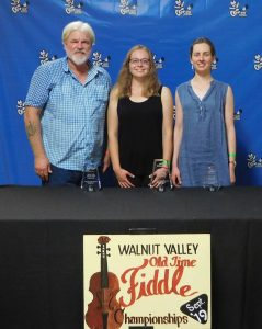 Walnut Valley Old Time Fiddle Winners