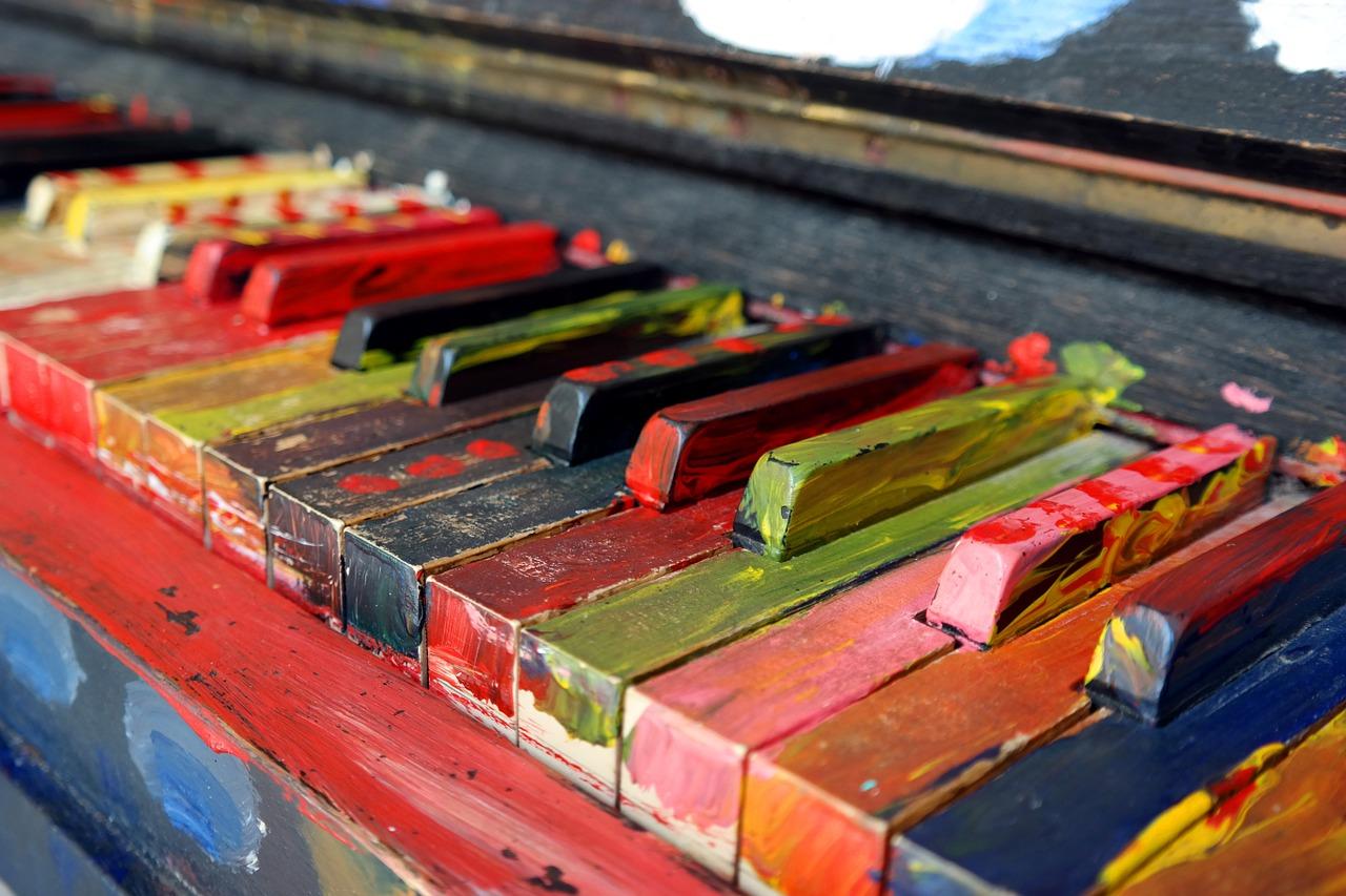 Colored Piano Keys - Lesson Pros