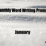 Single Word Writing Prompts January Lesson Pros