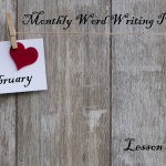 Word Writing Prompts February